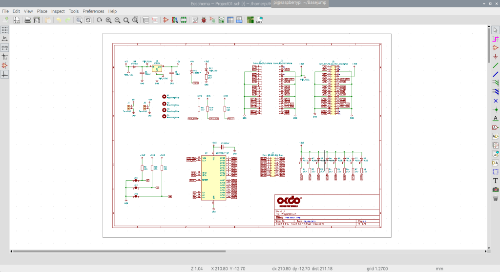 kicad schematic
