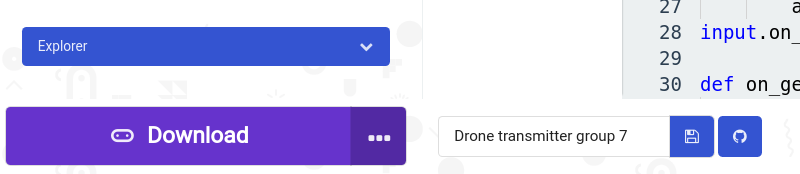 makecode connection